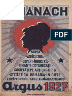 Almanach Argus 1927