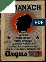 Almanach Argus 1928