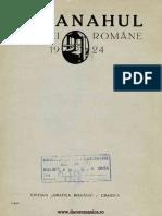 Almanahul Graficei Române, 1924