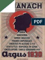 Almanach Argus 1930