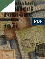 Almanahul Graficei Române, 1931