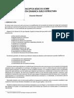 Conceptos Basicos de Interaccion Suelos-estructura