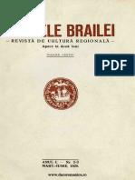 Analele Brailei, An 01, Nr. 02-03, Martie-iunie 1929