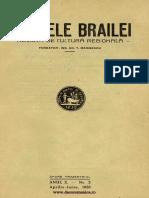 Analele Brailei, An 10, Nr. 02, Aprilie-iunie 1938