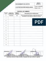 Prosedimiento de Seguridad Radiologica Bolivia