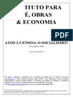 Atos 2-5 Ensina o Socialismo? - Art Lindsley (tradução Nathan Cazé)