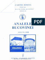 07-1. Analele Bucovinei, An VII, Nr. 1 (2000)