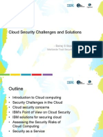 Cloud Security Challenges and Solutions