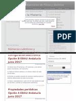 Ejercicios Estructura de La Materia y Periodicidad