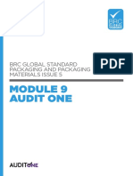Brc Global Standard Packaging and Packaging Materials Issue 5 - Module 9 Audit One