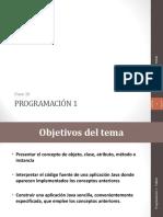 Clase 10 - Programacion Orientada a Objetos