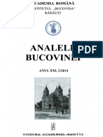 21-2. Analele-Bucovinei, An XX, Nr. 2 (2014)