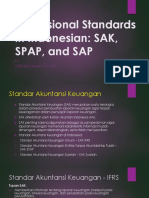Professional Standards in Indonesia