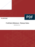 Forticlient 5.6.0 Windows Release Notes