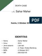 Death Case Sahar