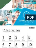 10 Factores Clave Exito Web Fotografia 2017