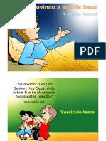 Culto Infantil- Historia de Samuel