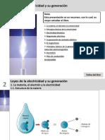 Ud.1. (Tema 2. Libro Nuevo Editex). Leyes de La Electricidad y Su Generación
