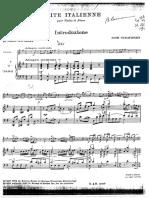 Stravinsky Suite It Alien Ne Piano