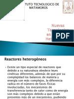 Reactores heterogeneos nuevas tecnologias