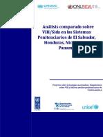 YES UNODC & ONUSIDA (2009) - Análisis Comparado Sobre VHI-sida en Los Sistemas Penitenciarios de El Salvador, Honduras, Nicaragu