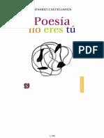 Poesía no eres tú.pdf