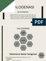 Halogenasi