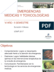 Curso Emergencias Médicas y Toxicologícas 2017