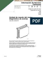 Manual Unidad Mando Motor Camiones Volvo