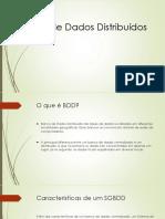 Apresentação BDD