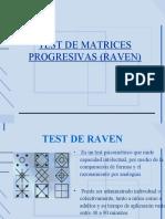 Test de Matrices Progresivas (Raven)