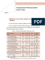 Health Systems Development Primary Health Care Components