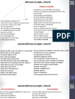 400 Frases Em INGLÊS - Parte 2