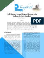 Info Singkat IV 11 I P3DI Juni 2012 16
