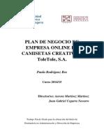 plan de comercio electronico