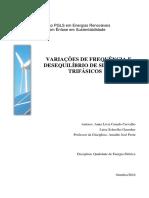 Variações de Frequencia e Desequilíbrio de Sistemas Trifásicos Rev 2