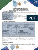 Guía Para El Dearrollo Del Componente Práctico FASE 2. Trabajo Colaborativo 1