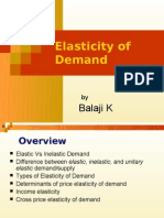 Elasticity of Demand Concepts