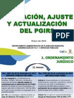 1_Presentacion 0_Proceso Actualización PGIRS