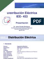 IEE 453 - Distribución Eléctrica C0
