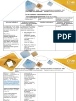 Guía de actividades y rúbrica de evaluación – Fase 4 Etnocentrismo y diversidad cultural