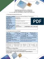 Guía de Actividades y Rúbrica de Evaluación - Fase 4 - Diagnóstico y Propuesta de Mejoramiento Del Problema