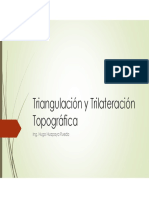 Triangulacion o Trilateracion