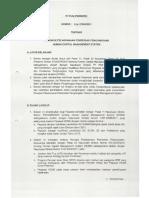 E Dir 0016 Tahun 2011, Petunjuk Pelaksanaan Pemberian Penghargaan Human Capital System