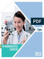 Pharmaceutical Chemistry Brochure