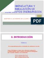 Nomenclatura de Compuestos Inorganicos1