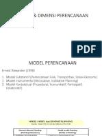 05 Model & Dimensi Perencanaan