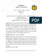 Informe 1 de Geotecnia, Humedad