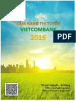 Cam Nang Thi Tuyen Vietcombank 2016