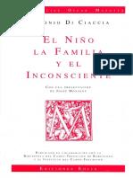 Antonio Di Ciaccia. El Niño, La Familia y El Inconsciente